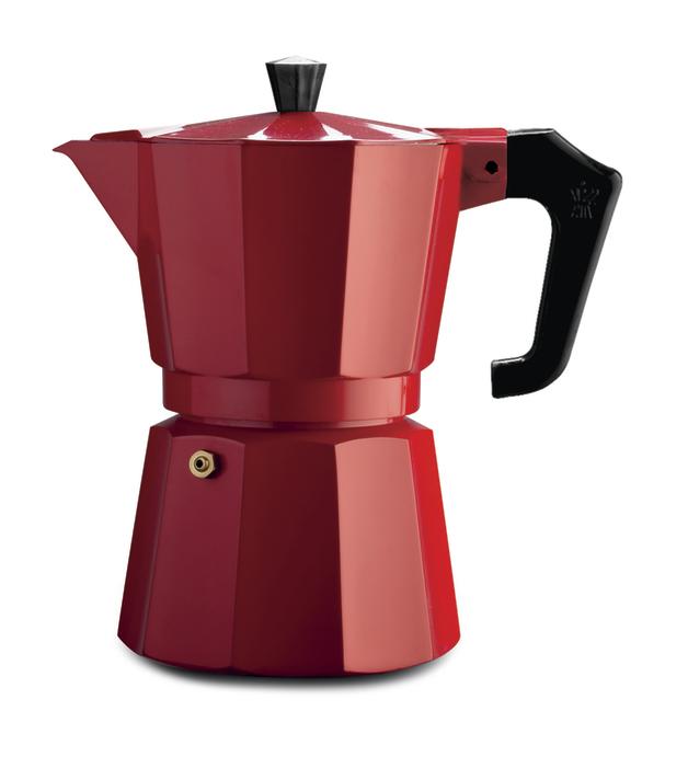Pezzetti: Italexpress Aluminium Coffee Maker - Red (1 Cup)