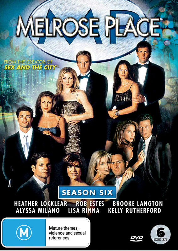 Melrose Place - The Complete Sixth Season on DVD