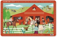 Crocodile Creek Placemat - Horses