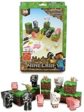 Minecraft Papercraft - Animal Mobs 30-Piece Set