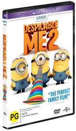 Despicable Me 2 on DVD image