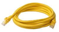 8ware: Cat 6a UTP Ethernet Cable Snagless - 3m (Yellow)