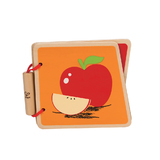 Hape: Fruit Wooden Baby Book