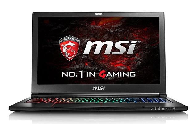 "MSI GS63VR 7RF 15.6"" 4K Gaming Laptop Intel Core i7-7700HQ, 16GB RAM, GTX 1060 6GB"
