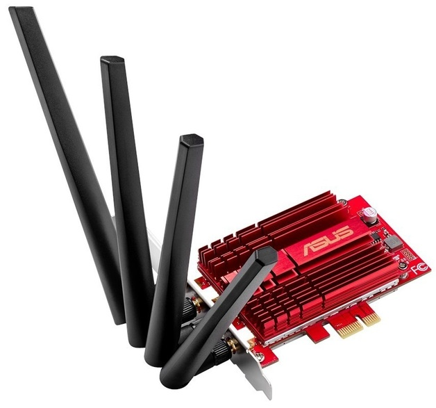 ASUS PCE-AC88 AC3100 Wi-Fi PCIe Adapter