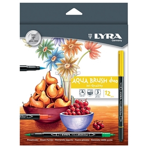 Lyra - Aqua Brush Duo - 12 Pack image