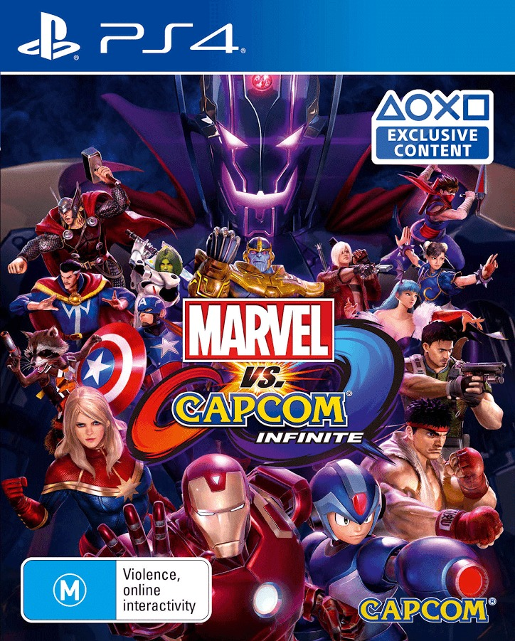 Marvel vs Capcom Infinite for PS4 image