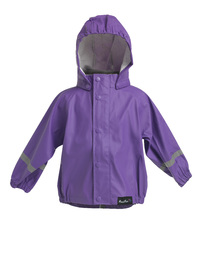 Mum 2 Mum Rainwear Jacket - Purple (12 months)
