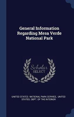 General Information Regarding Mesa Verde National Park