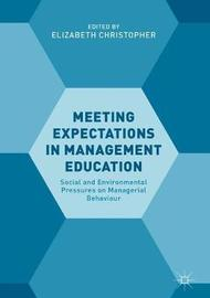 Meeting Expectations in Management Education