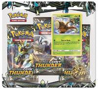 Pokemon TCG: Lost Thunder - 3-Pack Blister Set (Exeggutor)