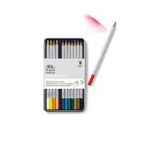Winsor & Newton: Studio Collection Coloured Pencil in Tin (12pcs)