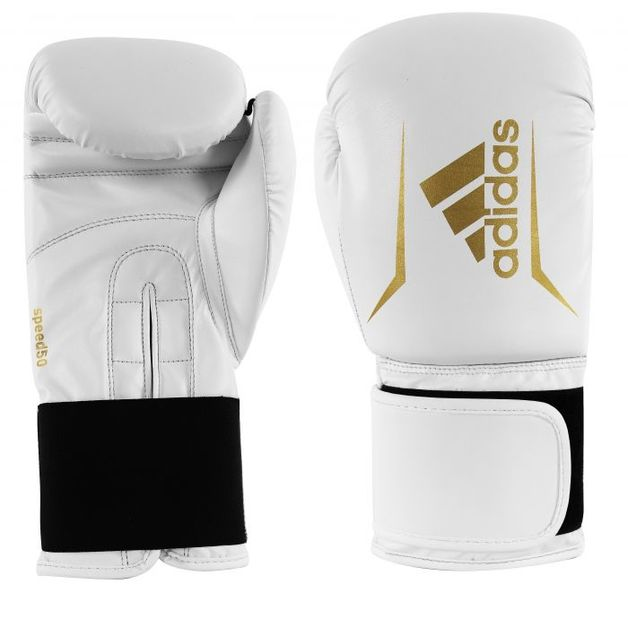 Adidas: Speed 50 - White/Gold - 10oz