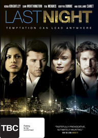 Last Night on DVD