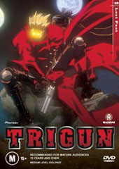 Trigun - Vol. 2: Lost Past on DVD