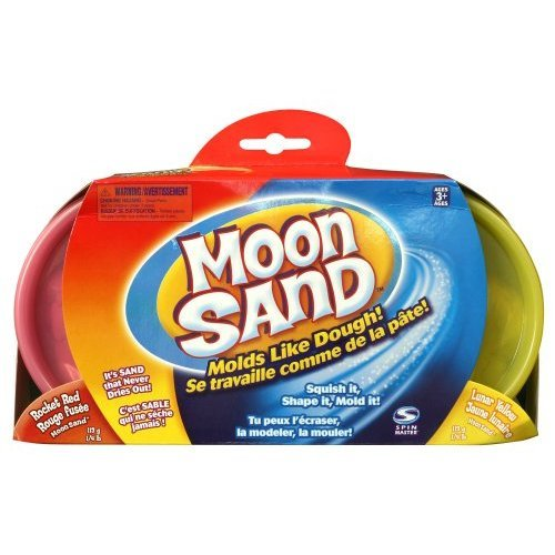 Moon Sands - Refill Kit Coloured Sand - Rocket Red & Lunar Yellow