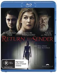 Return to Sender on Blu-ray