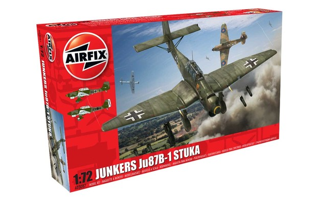Airfix Junkers Ju87 B-1 Stuka 1:72 Scale Model Kit