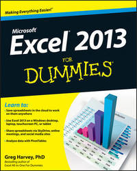 Excel 2013 For Dummies by Greg Harvey