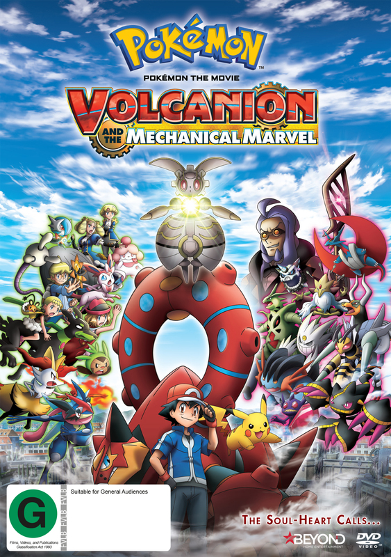 Pokemon: The Movie - Volcanion And The Mechanical Marvel on DVD
