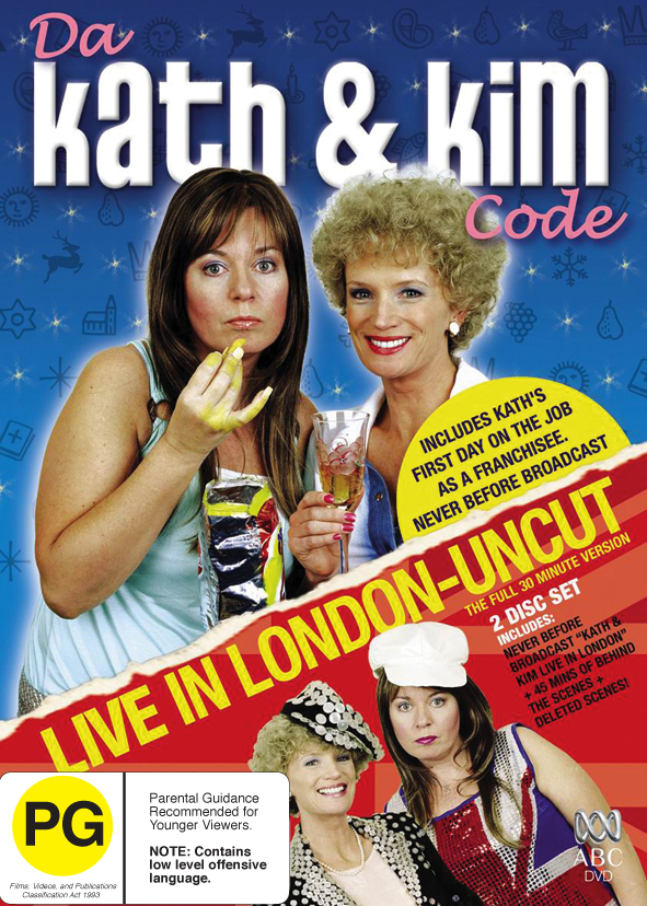 Da Kath And Kim Code / Live In London - Uncut (2 Disc Set) on DVD image