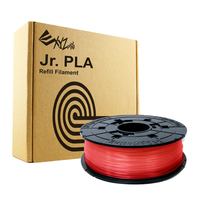 Da Vinci Filament For Mini Maker/Jr - PLA Refill Pack (Red) image