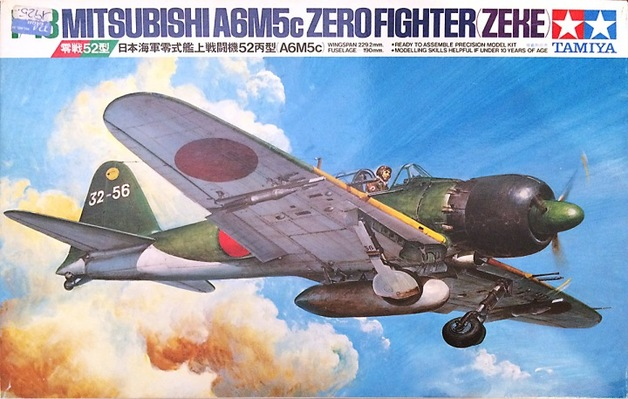 Tamiya 1/48 Mitsubishi A6M5C Type 52 Zero Fighter - Model Kit