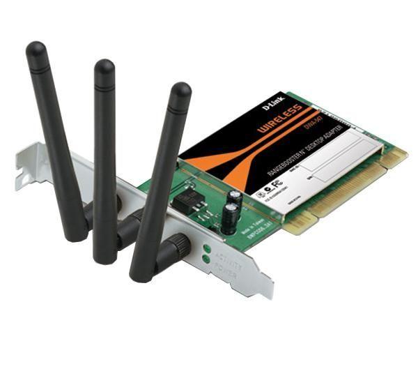 D-Link Wireless Rangebooster-N PCI Card image
