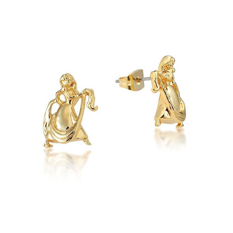 Couture Kingdom: Disney - Princess Rapunzel Stud Earrings (Yellow Gold) image
