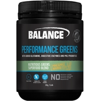Balance Naturals Performance Greens - Pineapple Mango (300g)