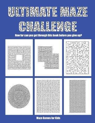 Maze Games for Kids by James Manning