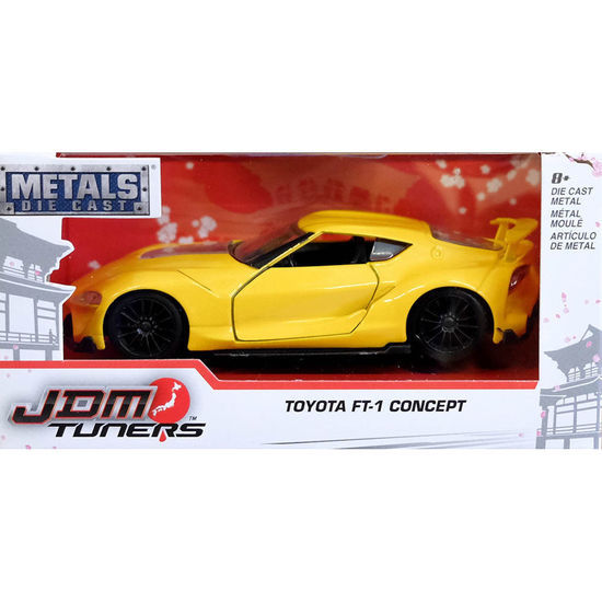 Jada 1/32 Jdm Toyota Ft-1 - Diecast Model (Yellow)