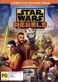 Star Wars Rebels: Season 4 on DVD image