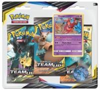 Pokemon TCG: Sun & Moon Team Up - 3-Pack Blister (Deoxys)
