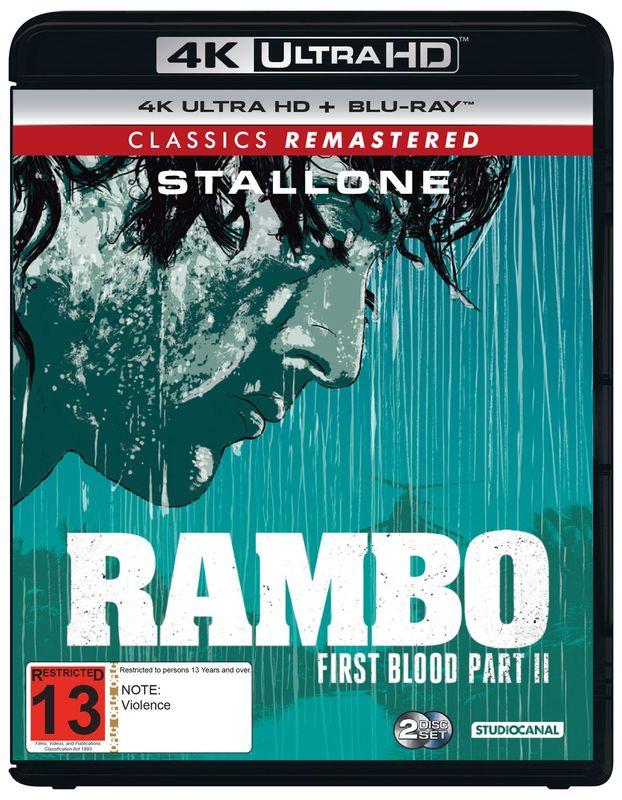 Rambo: First Blood Part II on UHD Blu-ray
