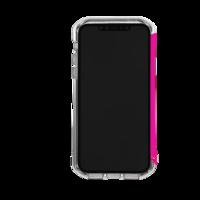 Element: Case Rail iPhone 11 - Clear/Flamingo Pink