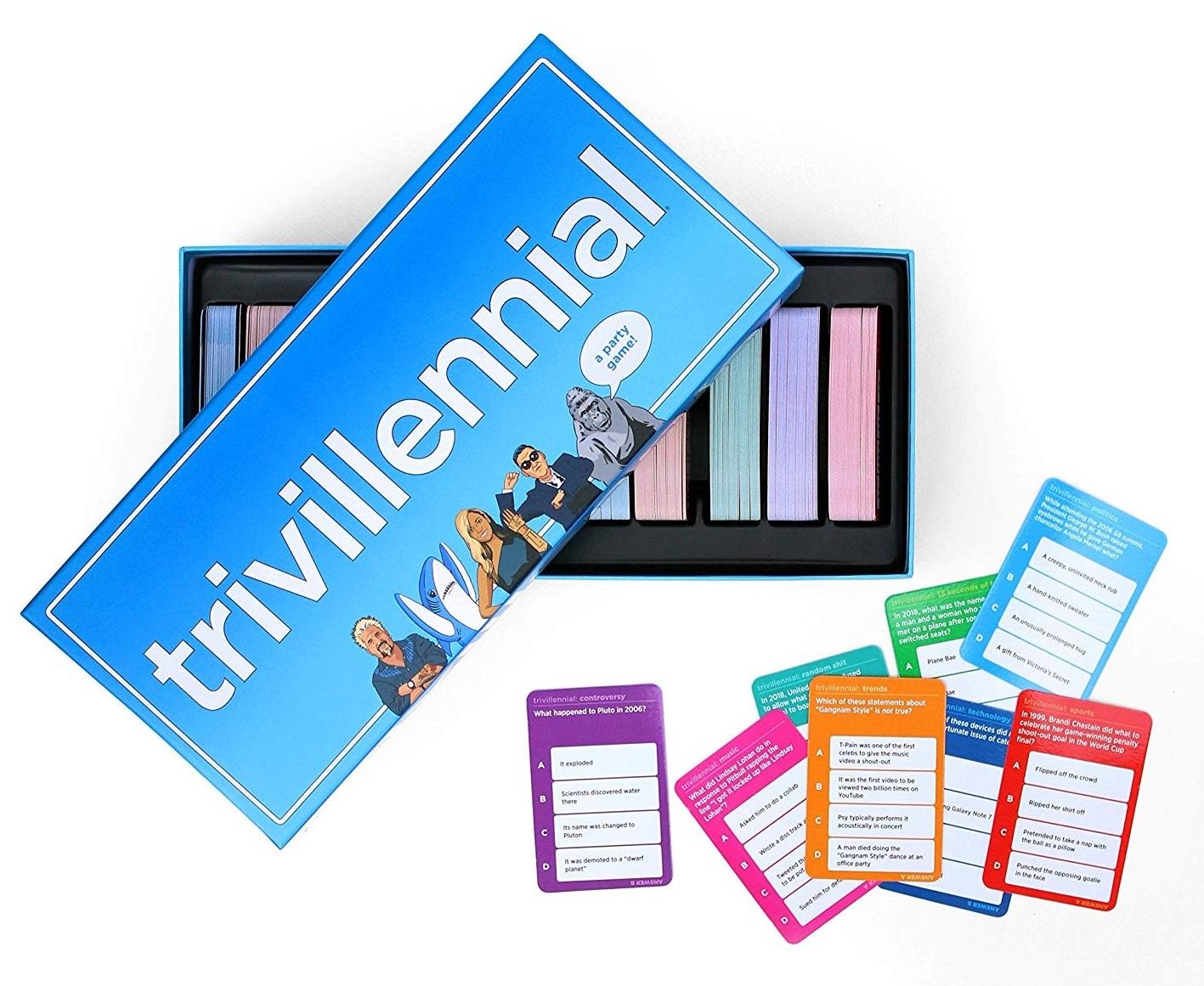 Trivillennial - The Trivia Game for Millennials image
