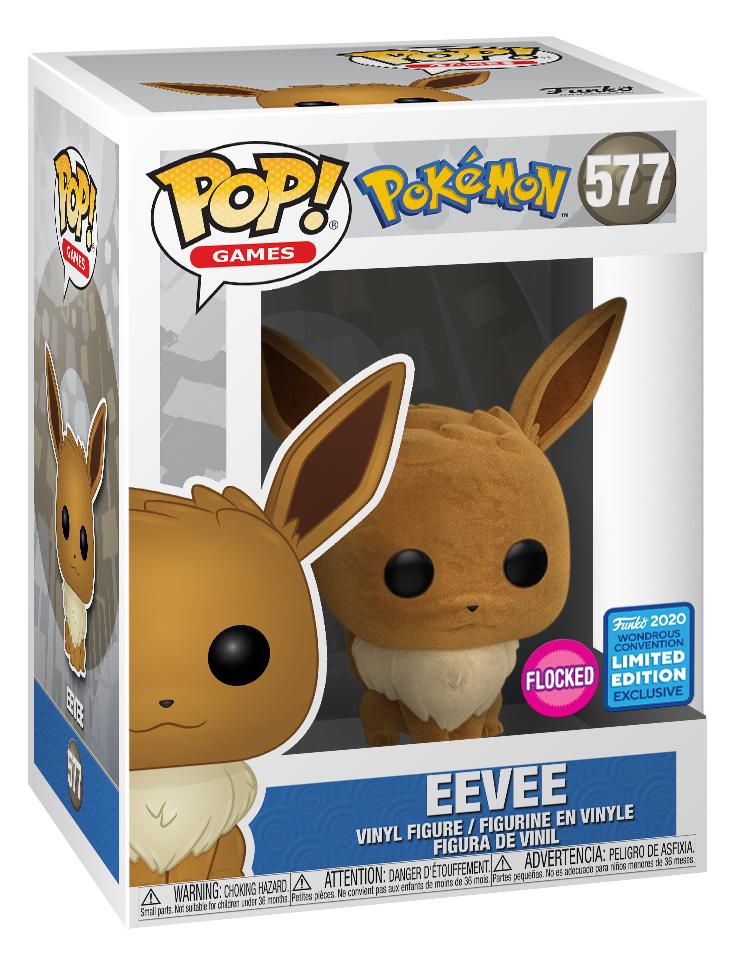 Pokemon - Eevee (Flocked) Pop! Vinyl Figure image