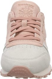 Reebok: Classics Leather Womens Lifestyle Sneakers - Pink (Size US 6.5)