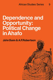 African Studies: Series Number 9 by John Dunn
