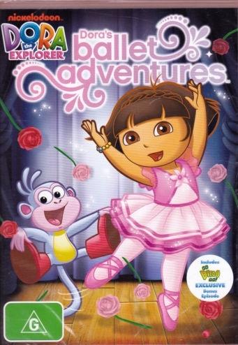 Dora the Explorer : Dora's Ballet Adventure on DVD image