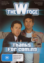 Wedge, The - Vol. 3: Thanks For Coming on DVD