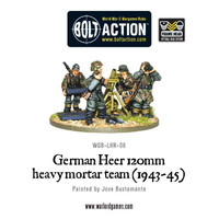 German Heer 120mm Heavy Mortar
