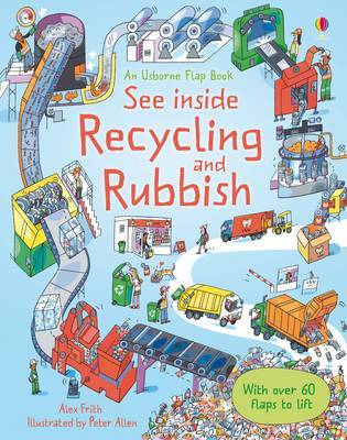 See Inside Rubbish and Recycling by Alex Frith image
