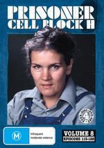 Prisoner - Cell Block H: Vol. 8 - Episodes 113-128 (4 Disc Set) on DVD