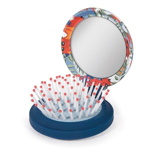 Compact Brush Mirror