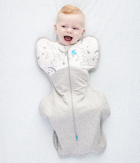 Swaddle UP Warm Winter 2.5 Tog - White (Small)
