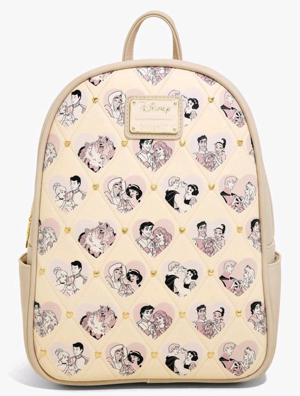 Loungefly: Disney Princess Couples Valentines Backpack