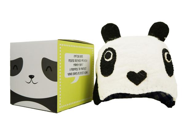 Short Story: Woolie Hat - Panda