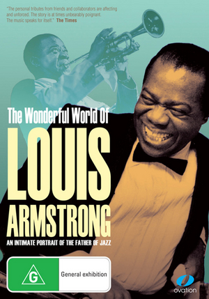 The Wonderful World of Louis Armstrong on DVD image
